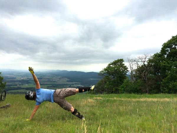 8 Yoga Poses for Mountain Bikers